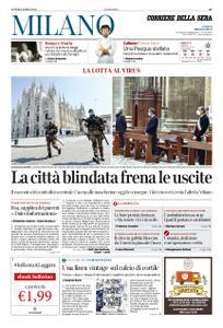 Corriere della Sera Milano – 06 aprile 2020