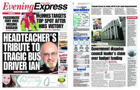 Evening Express – December 18, 2017