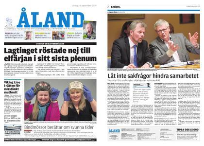 Ålandstidningen – 28 september 2019