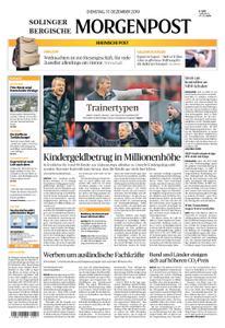 Solinger Morgenpost – 17. Dezember 2019