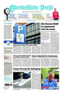 Oberhessische Presse Marburg/Ostkreis - 27. Oktober 2018