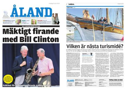 Ålandstidningen – 26 juli 2019