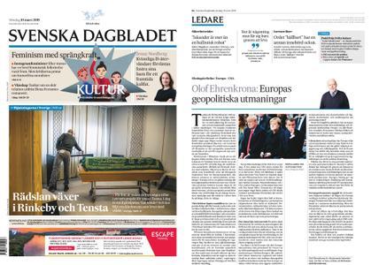 Svenska Dagbladet – 10 mars 2019