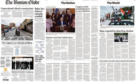 The Boston Globe – June 18, 2021