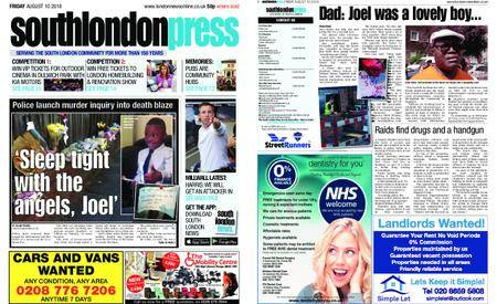 South London Press – August 10, 2018