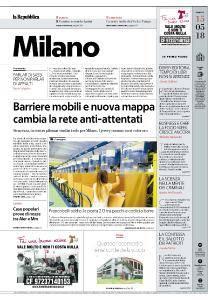 la Repubblica Milano - 15 Maggio 2018