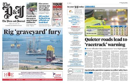 The Press and Journal Moray – July 14, 2020