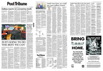 Post-Tribune – March 17, 2020