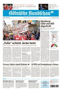 Kölnische Rundschau Wipperfürth/Lindlar – 24. Februar 2020
