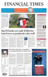 Financial Times Europe - July 15, 2020