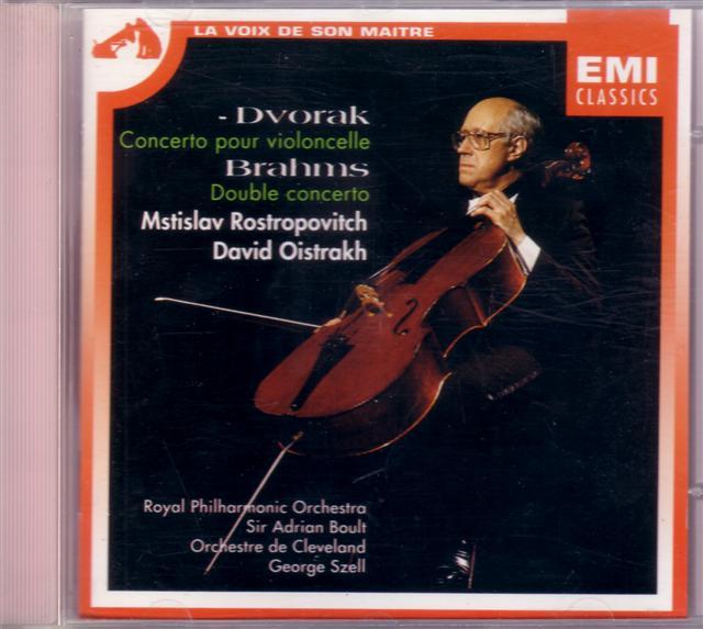 DVORAK-BRAHMS Concerti - Rostropovitch & RPO ... @320