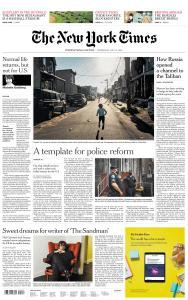 International New York Times - 15 July 2020