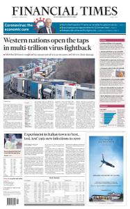 Financial Times Middle East - March 18, 2020