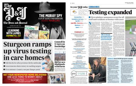 The Press and Journal Moray – May 02, 2020