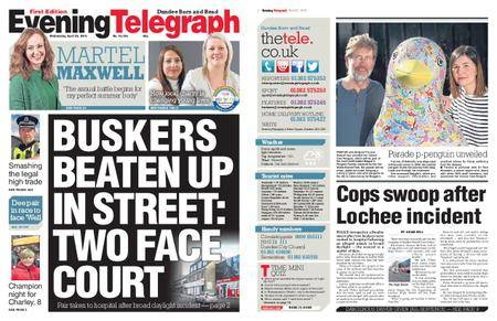 Evening Telegraph First Edition – April 25, 2018
