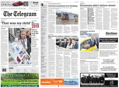 The Telegram – April 24, 2019