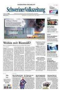 Schweriner Volkszeitung Hagenower Kreisblatt - 14. August 2018