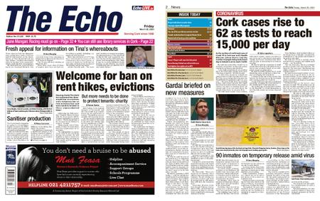 Evening Echo – March 20, 2020