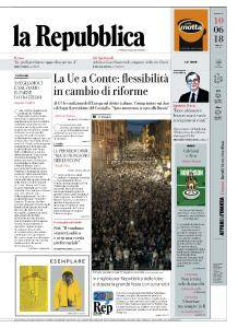 la Repubblica - 10 Giugno 2018