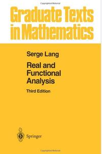 Real and Functional Analysis (3rd edition) [Repost]