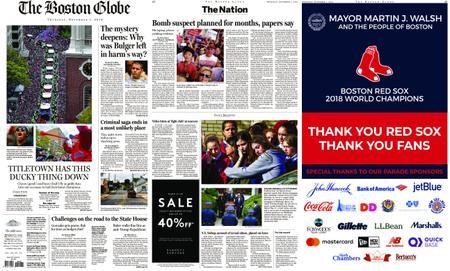 The Boston Globe – November 01, 2018