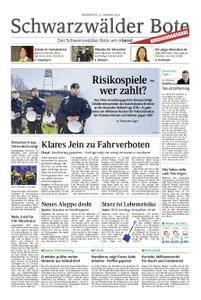 Schwarzwälder Bote Hechingen - 22. Februar 2018