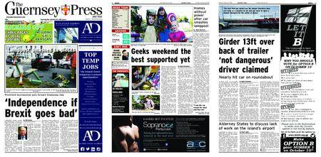 The Guernsey Press – 03 September 2018