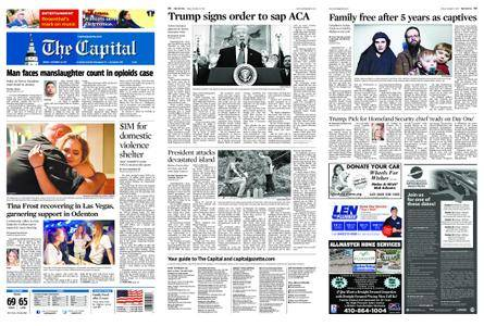 The Capital – October 13, 2017