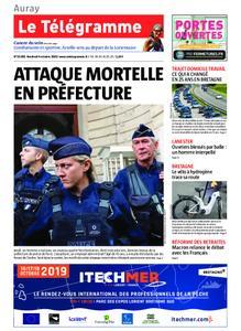 Le Télégramme Auray – 04 octobre 2019