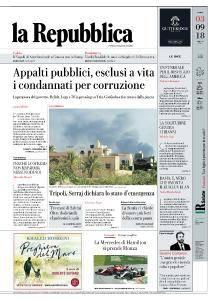 la Repubblica - 3 Settembre 2018