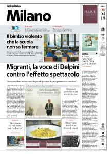 la Repubblica Milano - 6 Aprile 2019