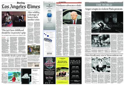 Los Angeles Times – November 25, 2018