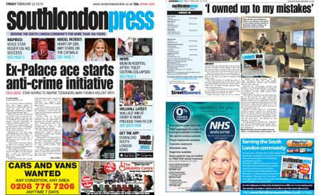 South London Press – February 22, 2019
