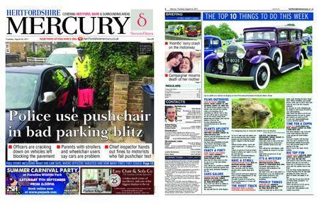 Hertfordshire Mercury – August 24, 2017