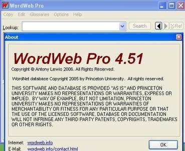 WordWeb PRO 4.51