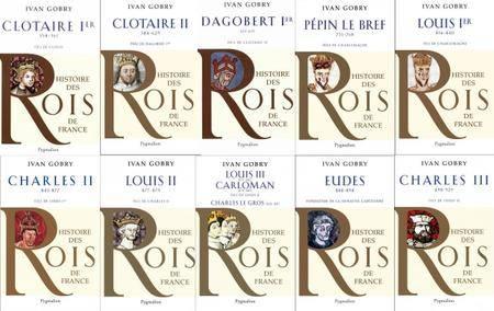 """Ivan Groby, """"Histoire des Rois de France"""" (Pack de 10 livres)"""