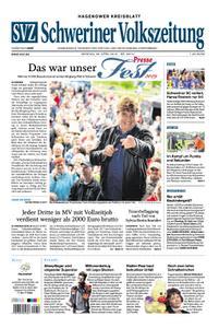 Schweriner Volkszeitung Hagenower Kreisblatt - 29. April 2019