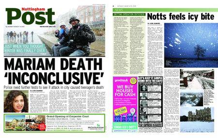 Nottingham Post – March 19, 2018