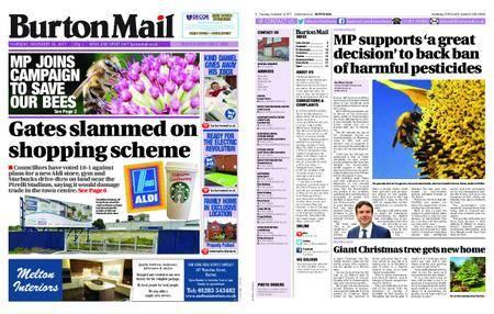 Burton Mail – November 16, 2017