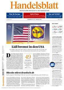 Handelsblatt - 18. Januar 2018