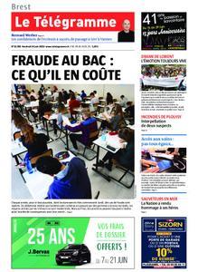 Le Télégramme Brest – 14 juin 2019