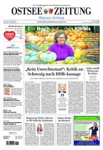 Ostsee Zeitung Rügen - 08. Oktober 2019