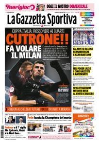 La Gazzetta dello Sport Roma – 13 gennaio 2019