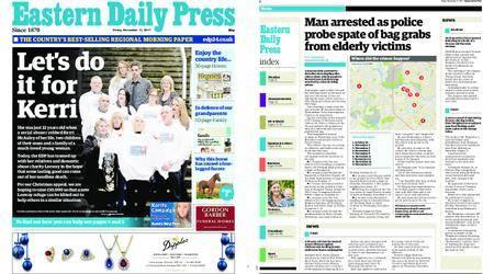 Eastern Daily Press – November 17, 2017