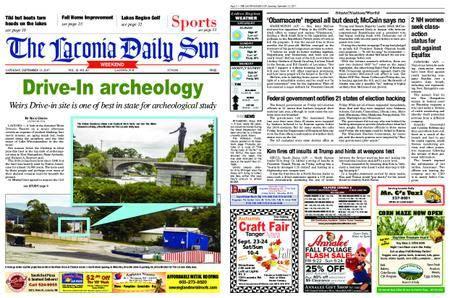 The Laconia Daily Sun – September 23, 2017
