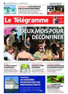 Le Télégramme Landerneau - Lesneven – 30 avril 2021