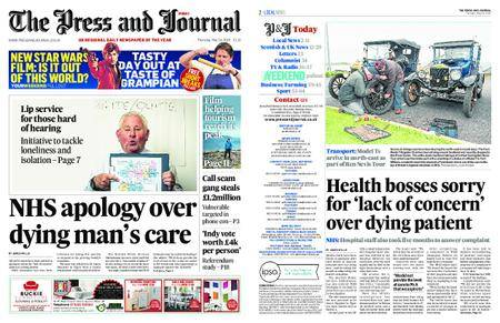 The Press and Journal Moray – May 24, 2018