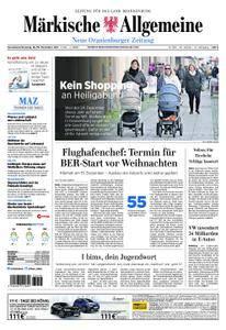 Neue Oranienburger Zeitung - 18. November 2017