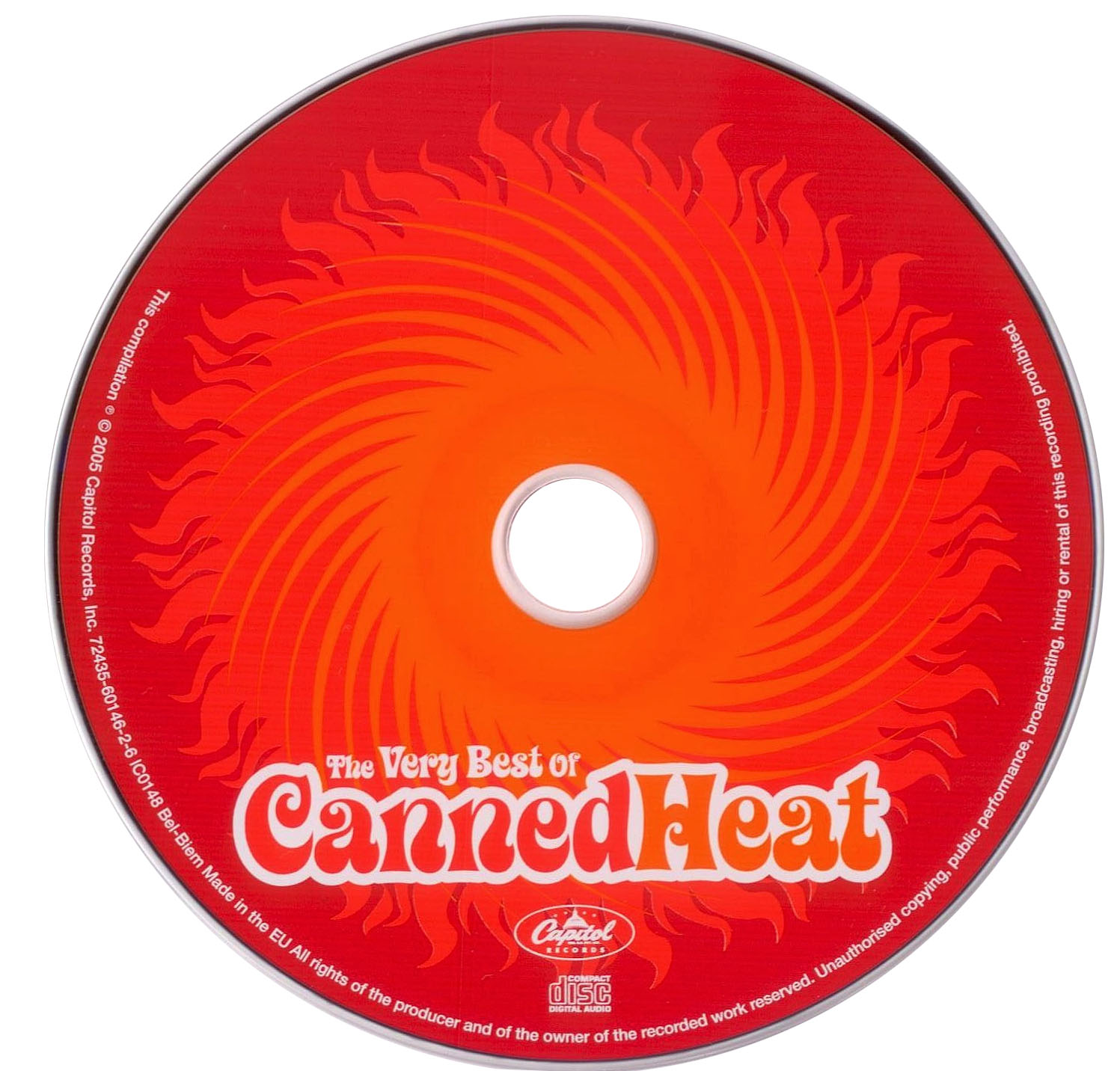 Canned Heat The Very Best Of Canned Heat 2005 Re Up