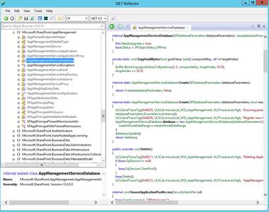 Red Gate .NET Reflector 10.1.5.1419